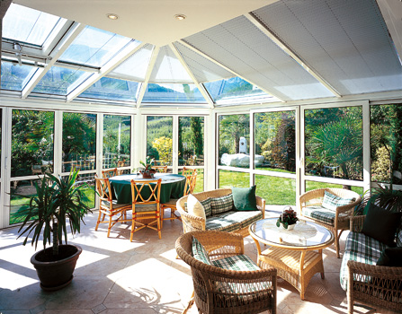 Strutture per giardino d inverno idee per il design - Verande giardino d inverno ...