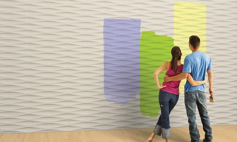 Pannelli decorativi in gesso Walldesignplus
