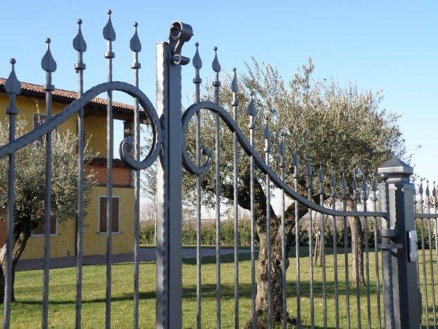 Cancello in ferro battuto Serie Futura Forgiafer