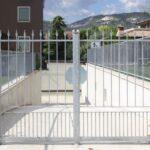 Cancello in ferro battuto modello Luisa Serie Futura Forgiafer