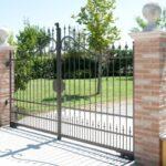Cancello in ferro battuto modello Cristina Serie Futura Forgiafer