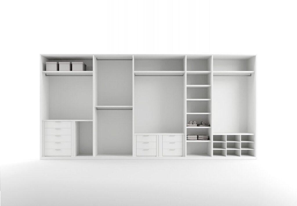 Cabine armadio cinquanta3 massima libert compositiva for Costo per costruire cabina armadio