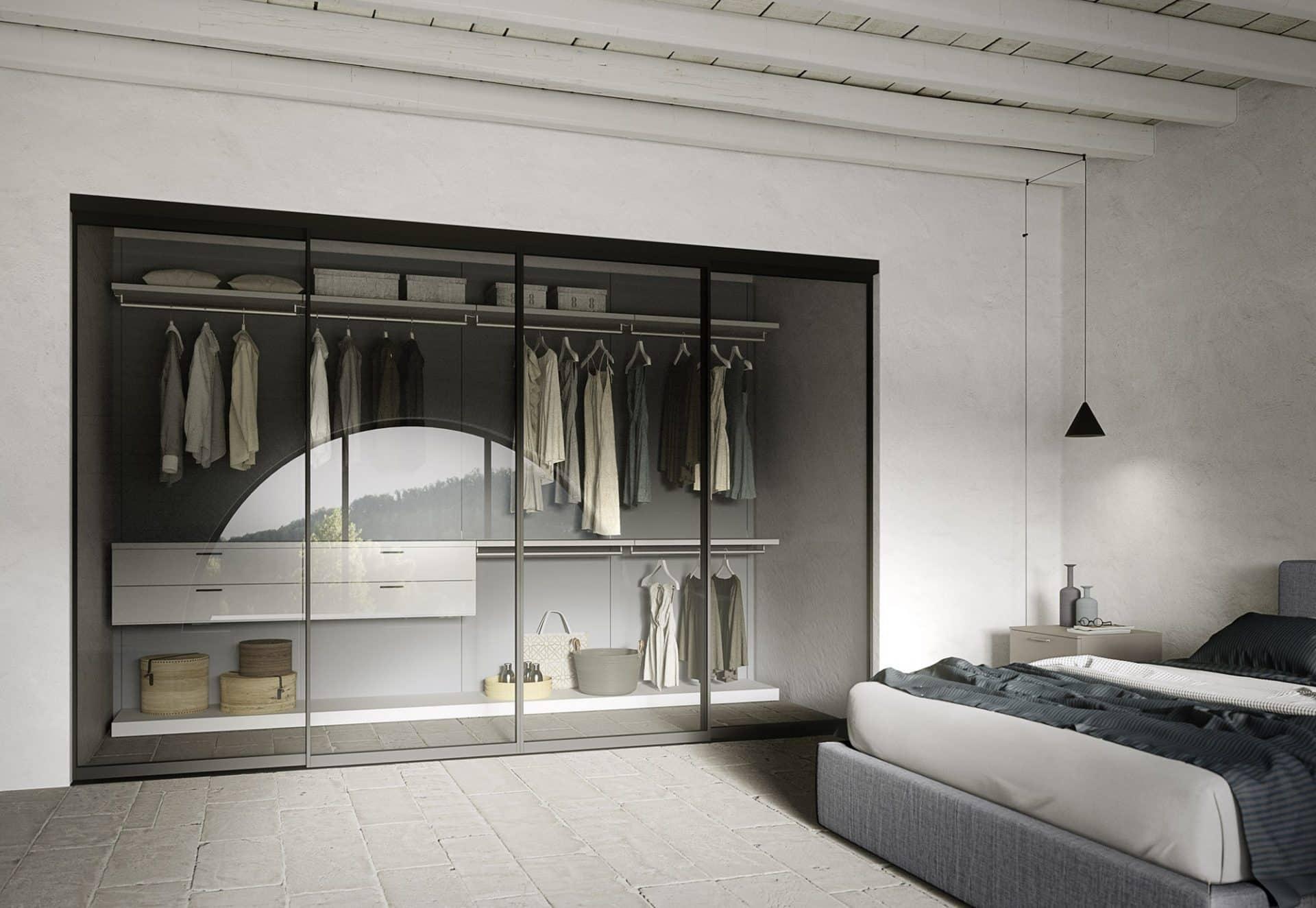Arredi e complementi cabine armadio box doccia nicchie - Soluzioni per cabine armadio ...