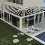Giardini di Inverno Sunroom modello Clima