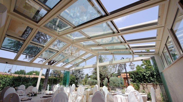 Giardini di inverno sunroom sistemi con vetrate e - Coperture mobili per terrazzi ...