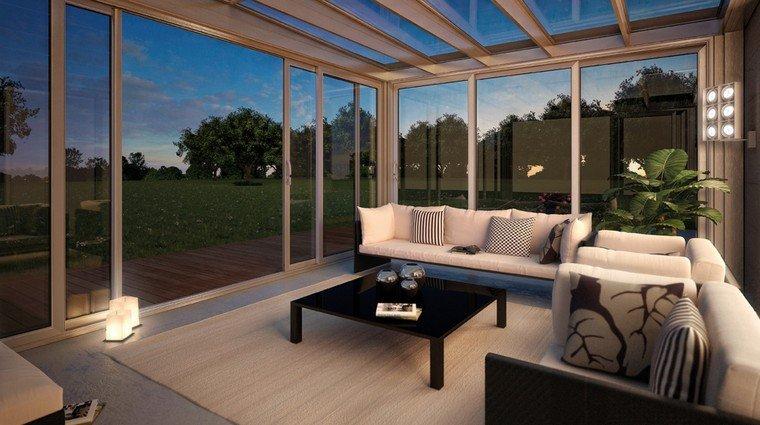 Giardini di inverno sunroom sistemi con vetrate e - Giardini d inverno immagini ...