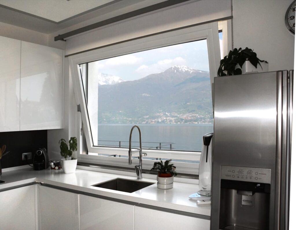 Infissi legno alluminio navello tecnologia funzionalit qualit dei materiali eleganza dei - Condensa finestre alluminio ...