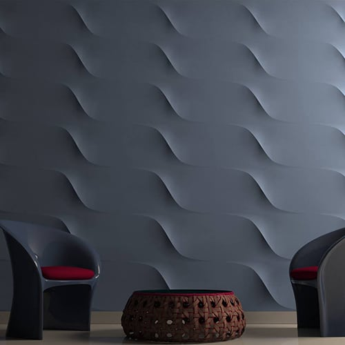 Pannelli decorativi in gesso Wall Design Plus Decor s.r.l.-Modello Ice