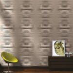 Pannelli decorativi in gesso Wall Design Plus Decor s.r.l.-Modello Wind