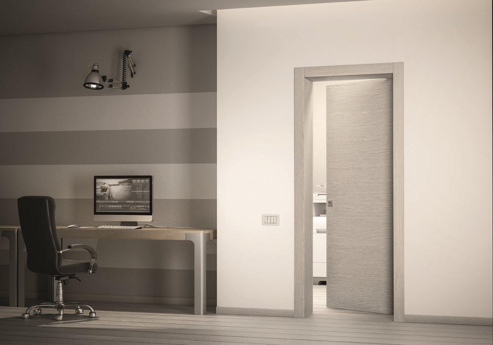 Porte legno pivato vasta gamma di modelli liscia cieca - Porta bianca laminato ...