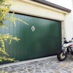 Portoni garage basculanti Ballan linea Legno Classique HF