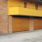 Portoni garage basculanti Ballan linea timber-orizzontale-85