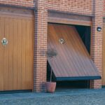 Portoni garage basculanti Ballan linea timber-verticale-170