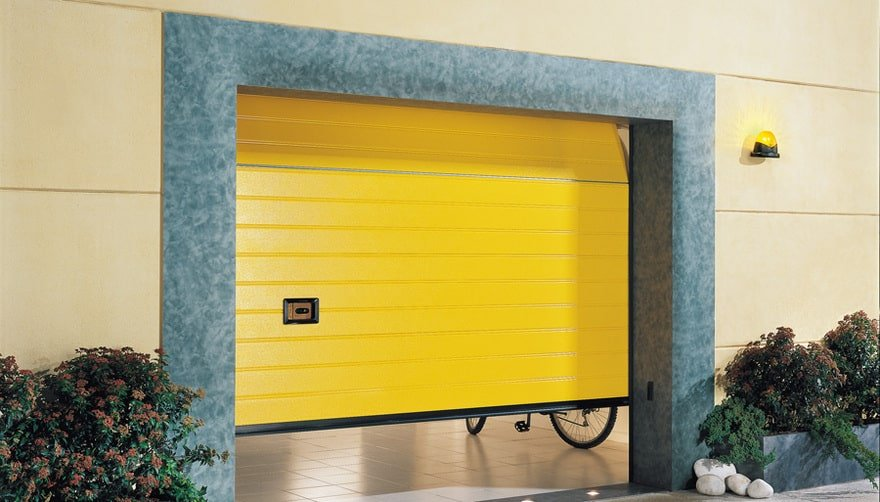 Portoni garage sezionali ballan ogni linea ampia - Vetrocamera spessore minimo ...