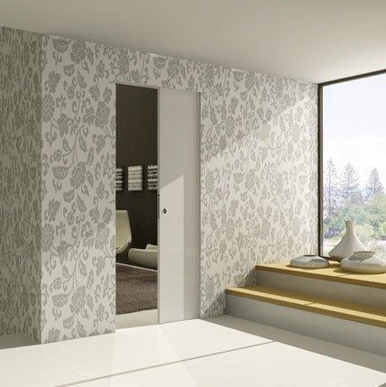 Controtelai porte scorrevoli eclisse garanzia di un for Porte filo muro cartongesso
