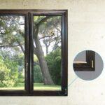 infissi alluminio-legno Biemme Finestre modello Elipse