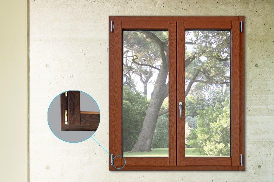 Infissi alluminio legno biemme finestre con sistema estra - Finestre legno italia ...