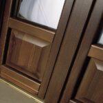 Serramenti Legno Navello - particolare porta-finestra