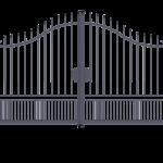 Cancello carraio ad anta battente modello Alessia - Serie Futura Forgiafer