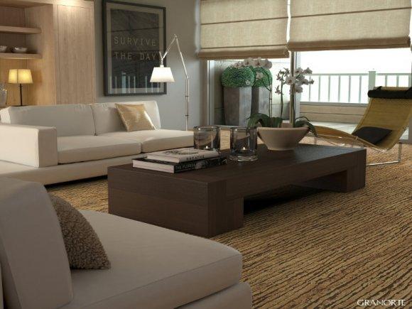 Materiali per pavimenti in sughero in condizioni di bagno umide