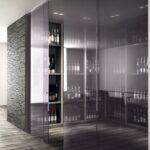 Porte vetro Henry Glass - cantina-grafite