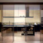 Porte vetro Henry Glass - cucina-bronzo