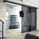 Porte vetro Henry Glass - loft-nero