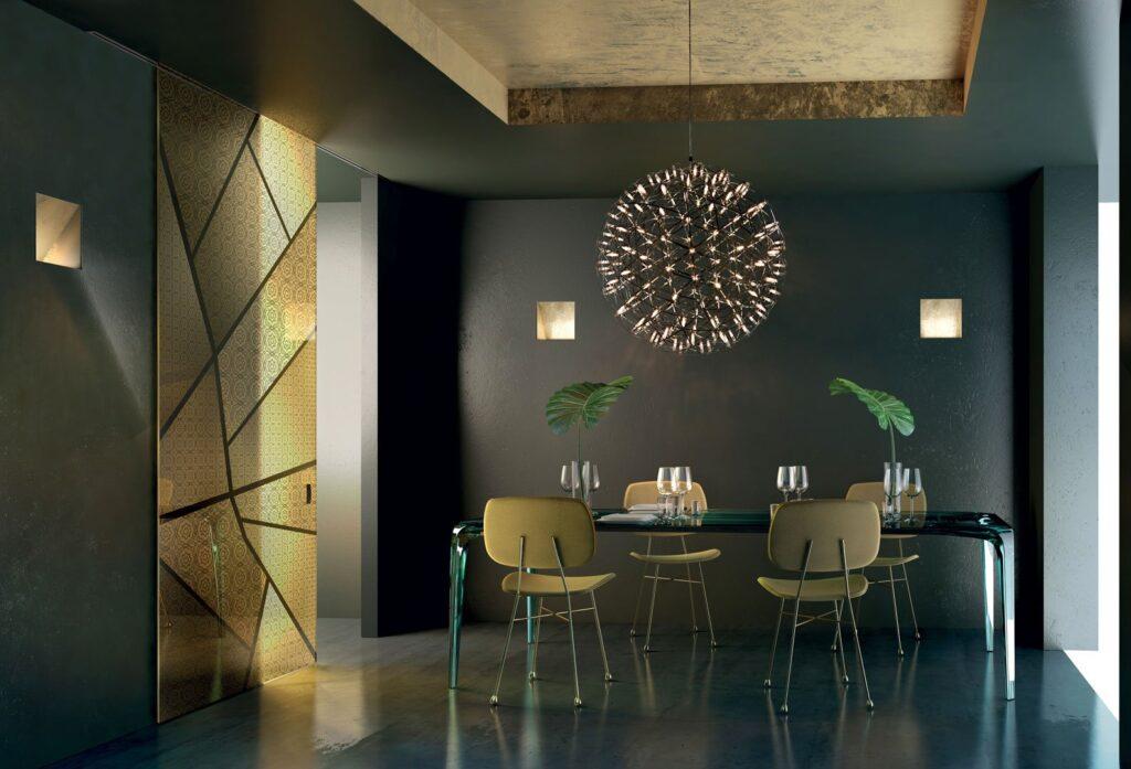 Porte in vetro scorrevoli a battente per interni henry for Blog interior design italia