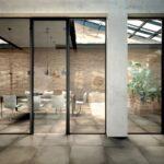 Porte vetro Henry Glass - ufficio-moka