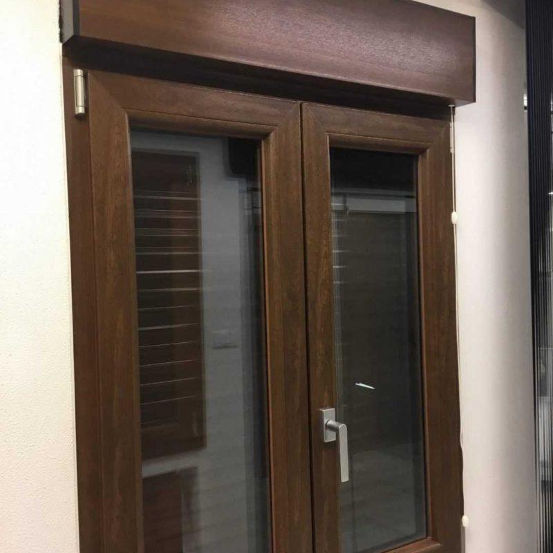 finestre in pvc con monoblocco ed avvolgibile elettrico € 300