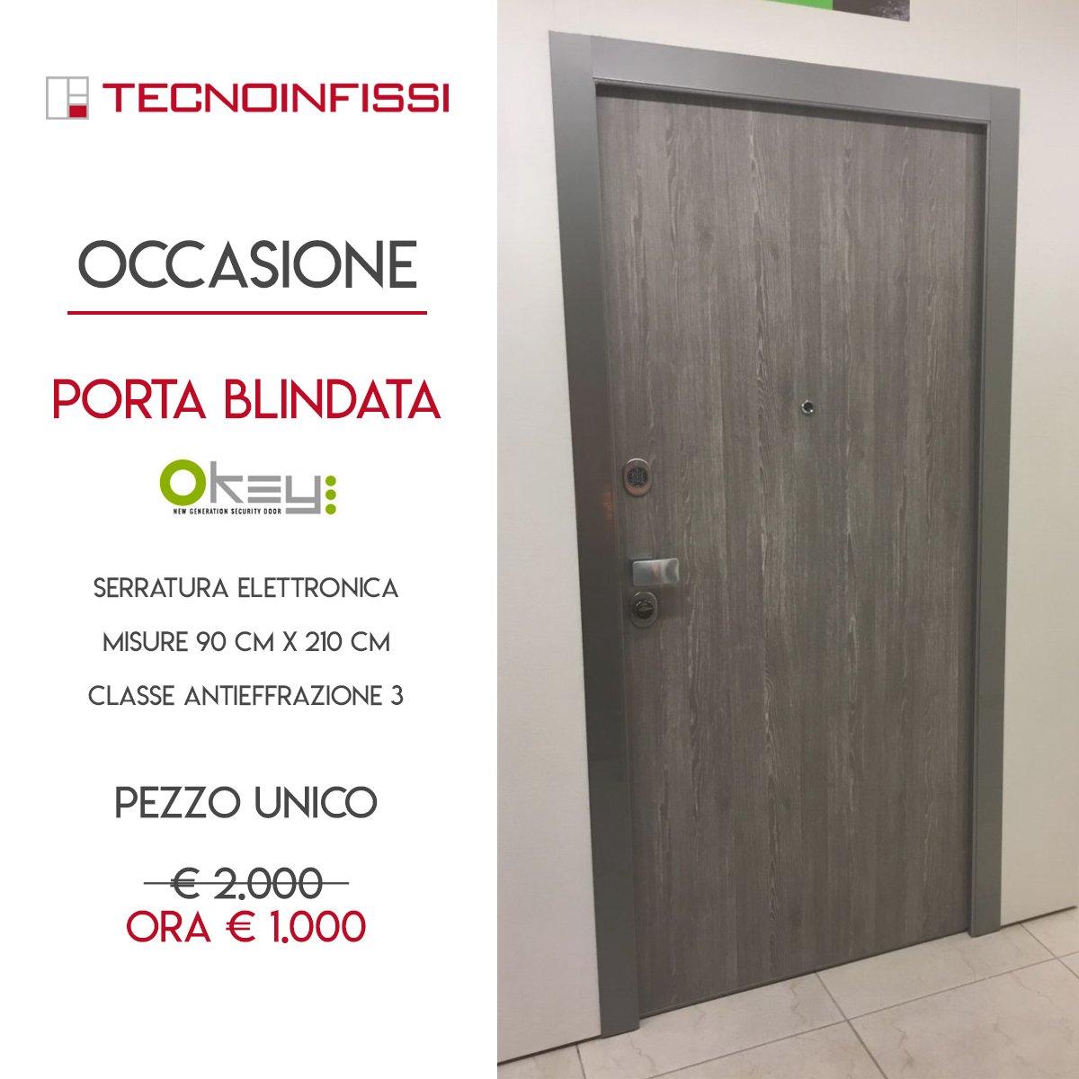 Offerta Porte Blindate per rinnovo campionatura - Tecnoinfissi Srl