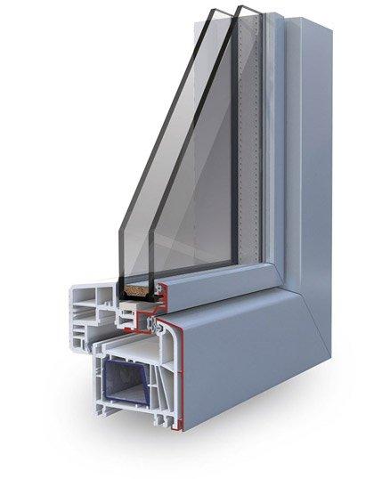 Infissi pvc korus serramenti finestre korus per un - Stock finestre pvc ...