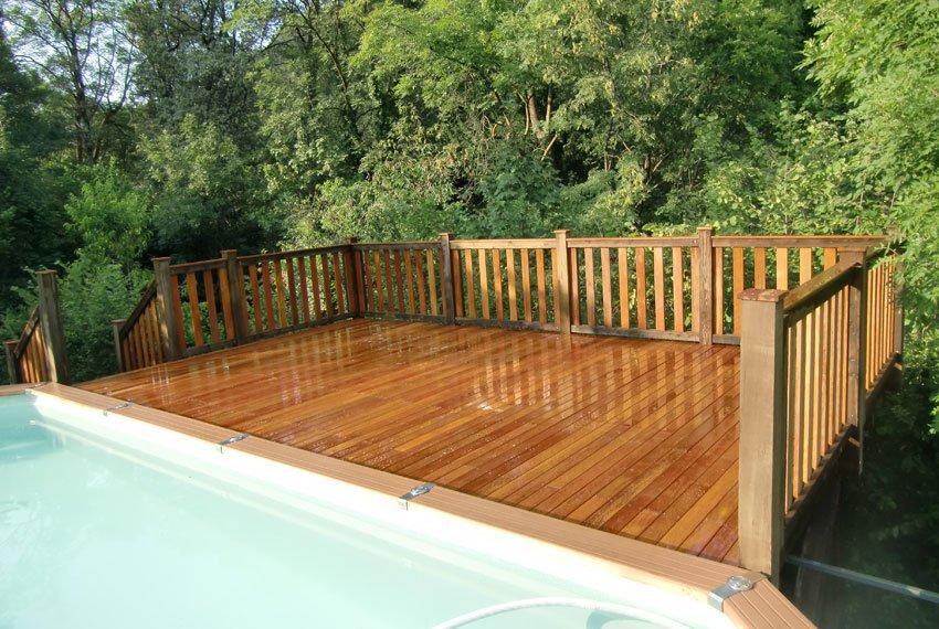 Pavimenti per esterni in legno naturale angelim amargoso tecnoinfissi srl - Terrazze in legno da esterno ...