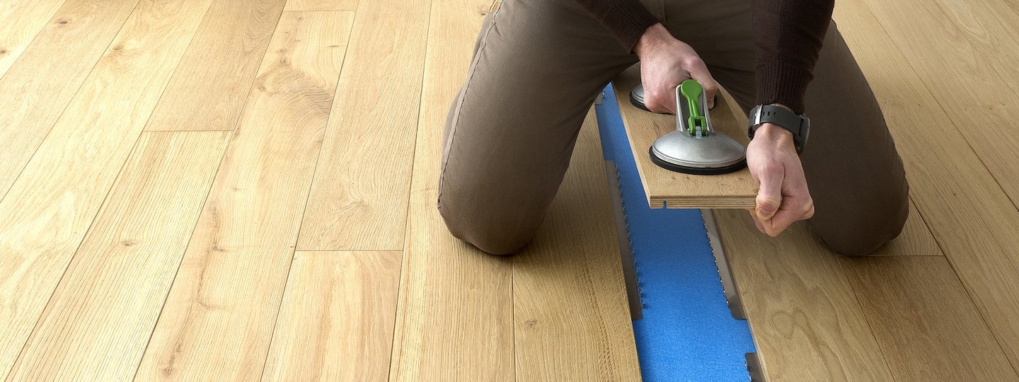 Parquet in legno Clip Up System® Garbelotto