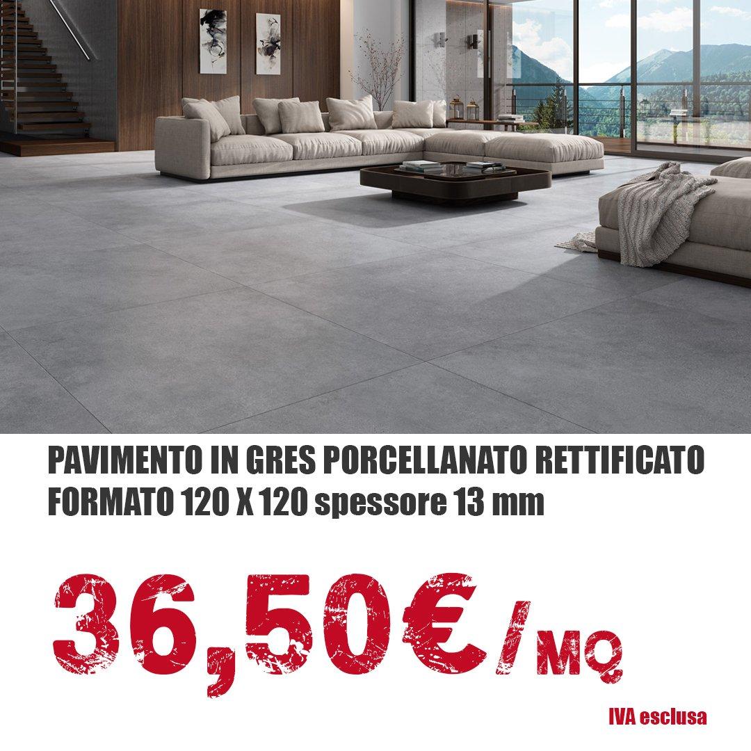 Pavimenti in gres porcellanato rettificato 120x120 - Tecnoinfissi Srl
