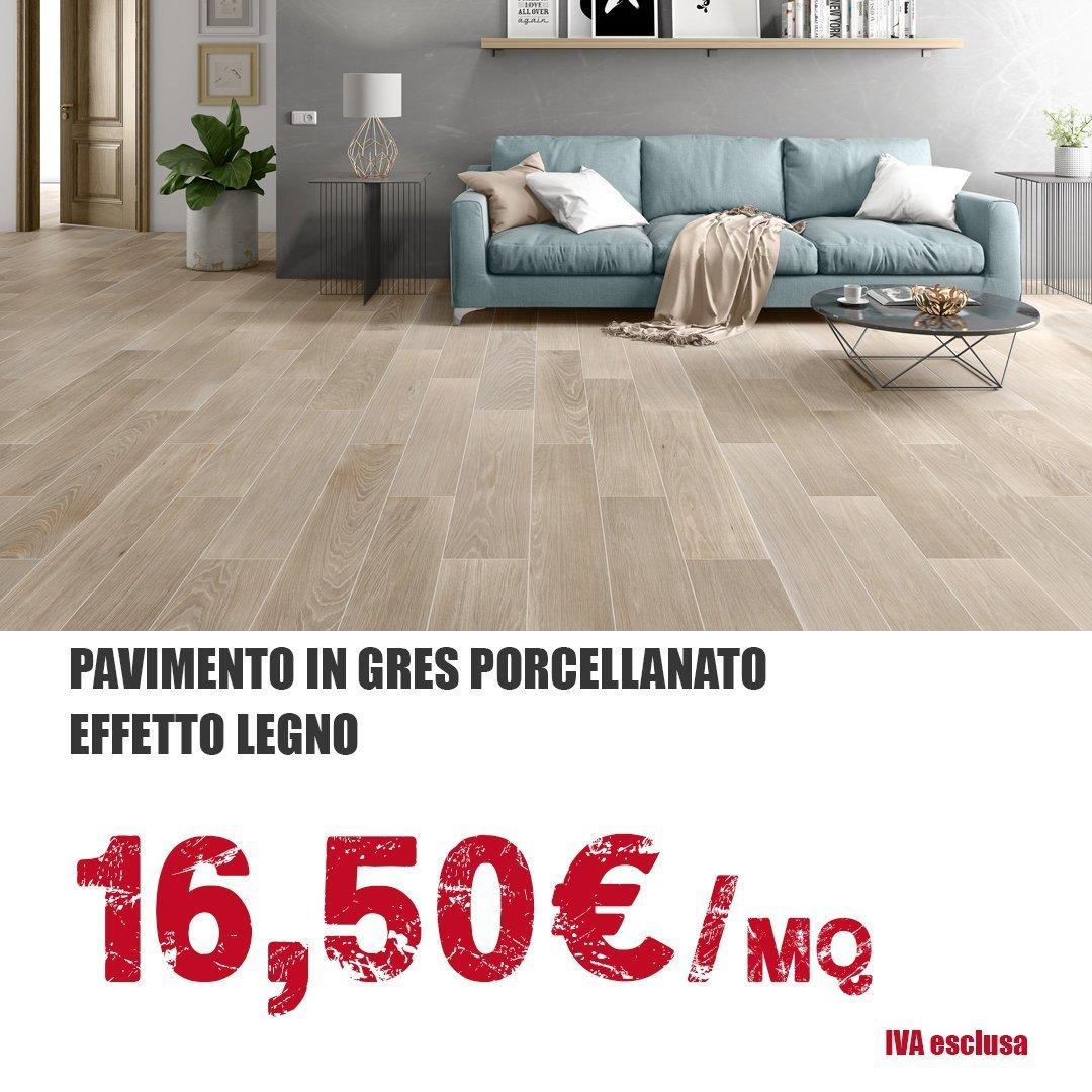 Pavimenti in gres porcellanato a 16,50 euro al MQ - Tecnoinfissi Srl