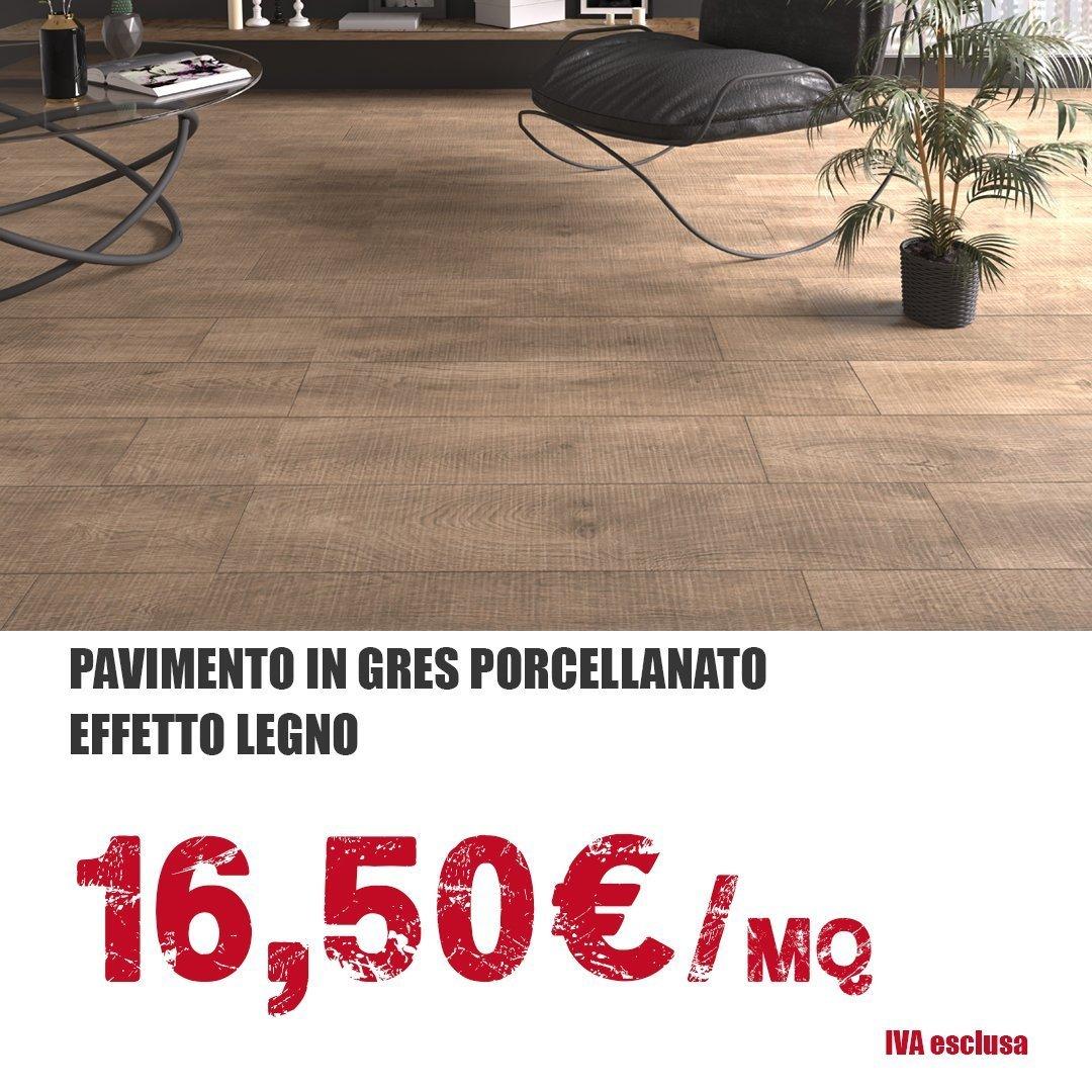 Pavimenti in gres porcellanato a 16,50 euro al MQ ...