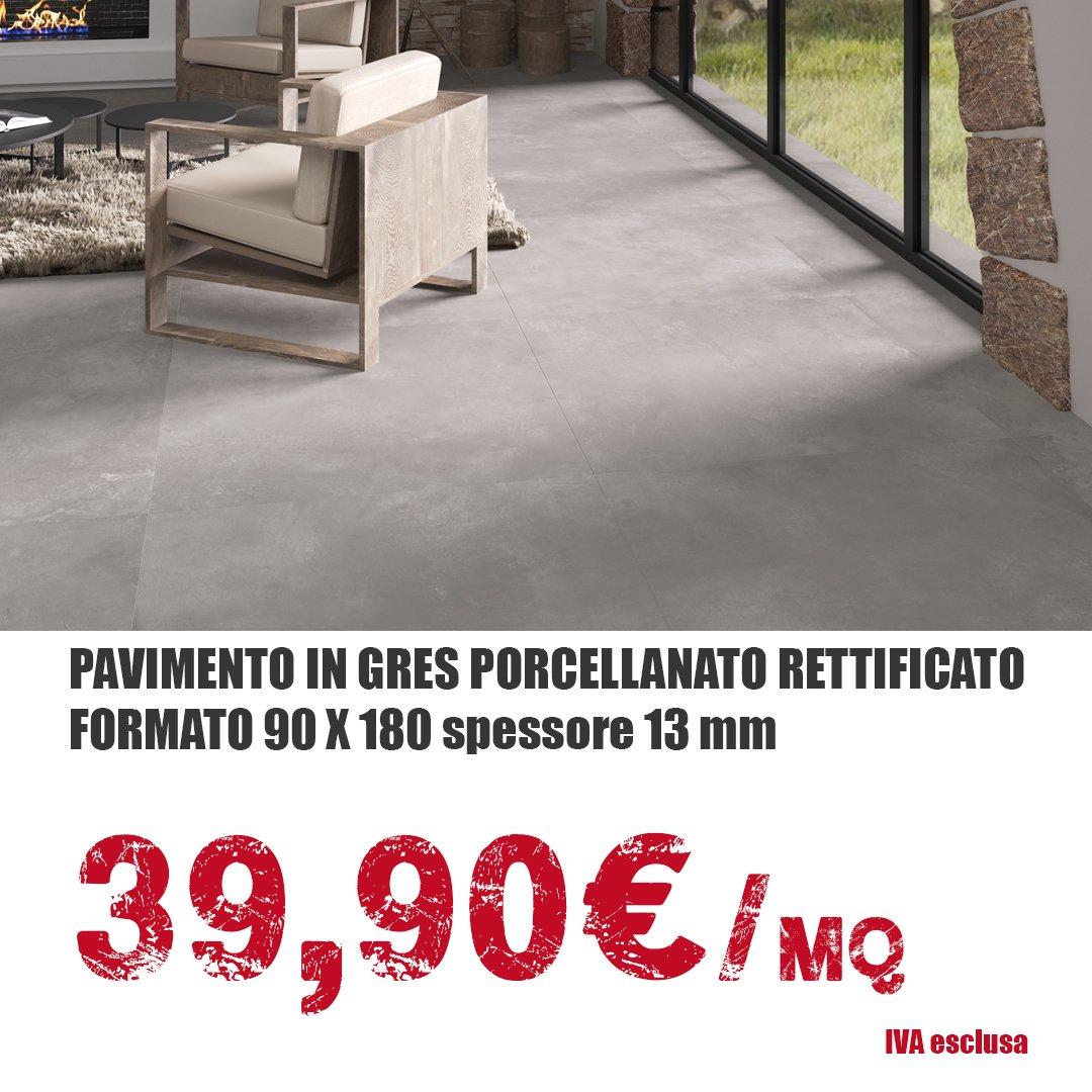 Pavimenti in gres porcellanato rettificato 90x180 ...
