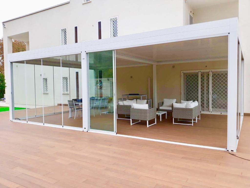 Pavimenti In Vetro Per Esterni vetrate panoramiche - ideali per sfruttare e valorizzare l